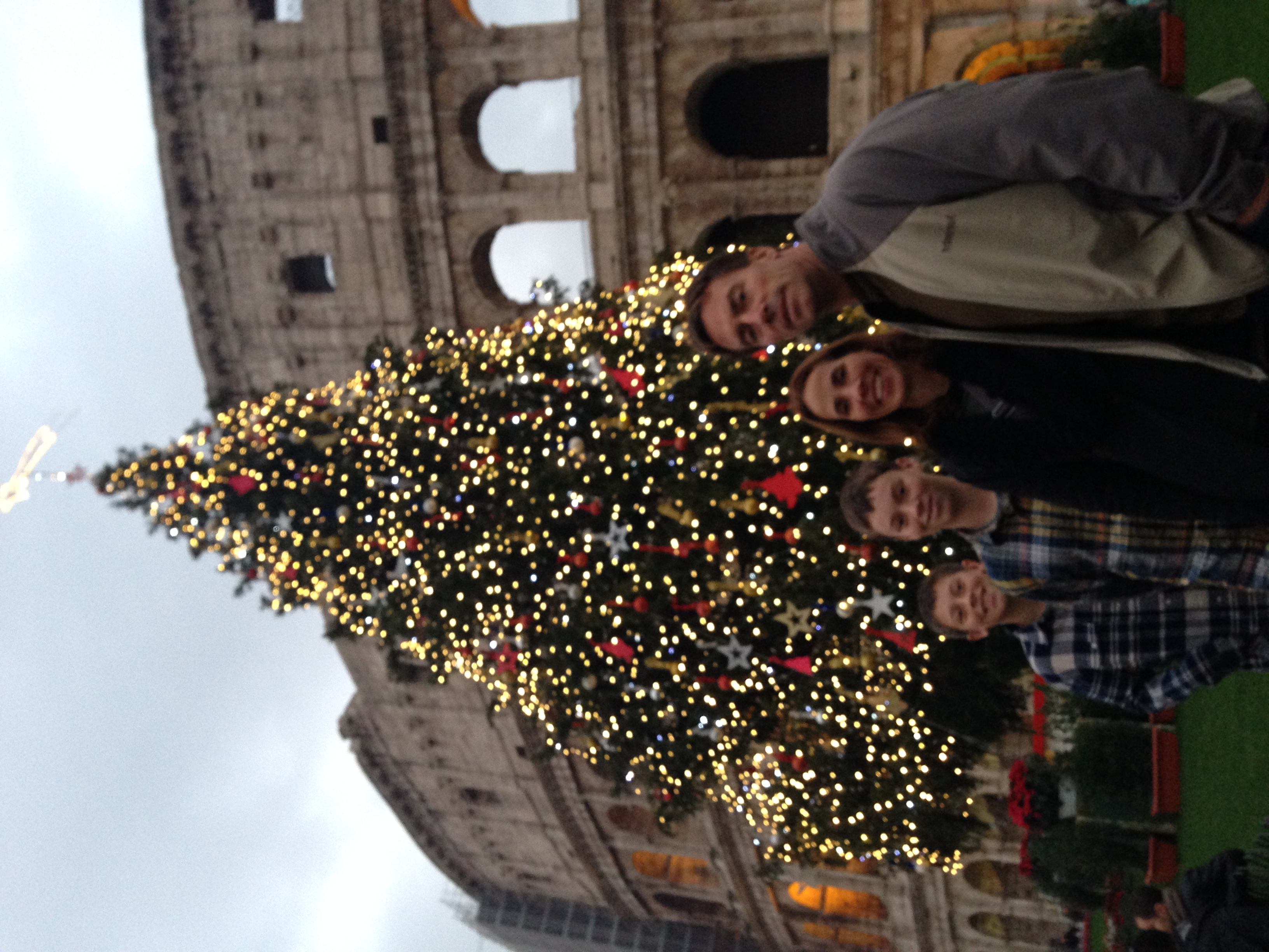 Christmas in Rome!